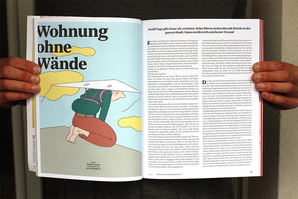 Illustration d'un article : un homme avec un cerf volant sur le dos s'apprête à sauter d'un immeuble