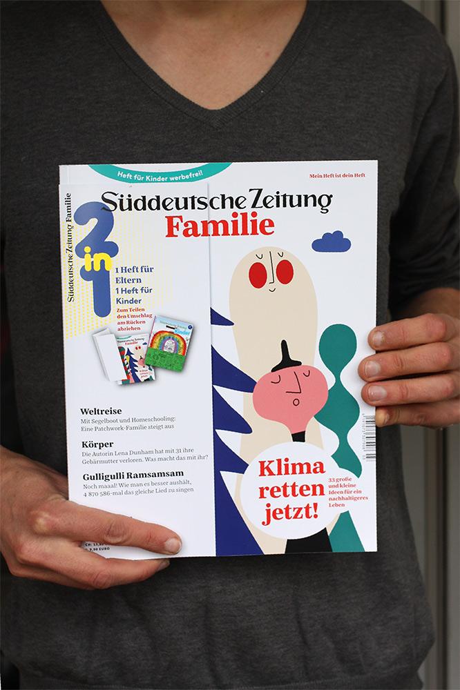 Couverture du magazine Suddeutschen Zeitung Familie de mai 2019