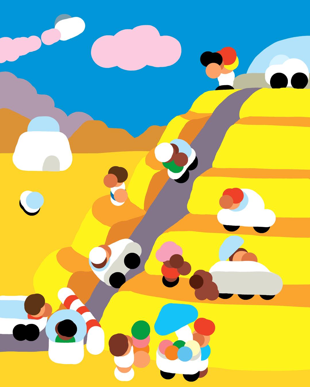 Destination terrestre