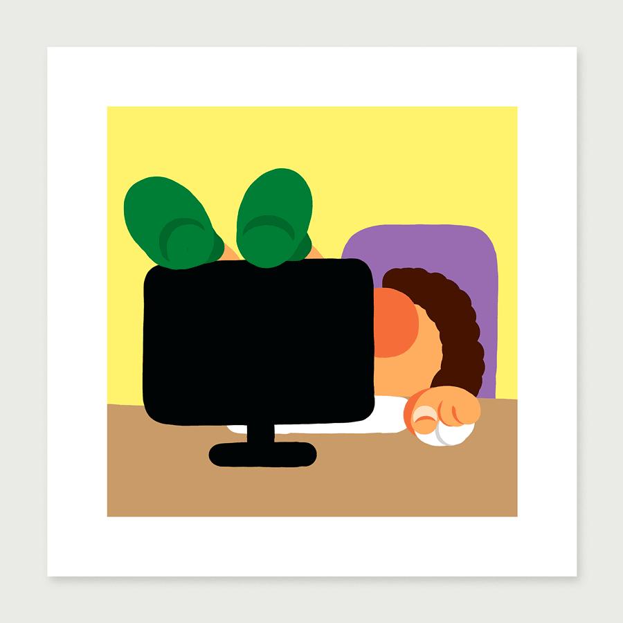 Tirage télétravail